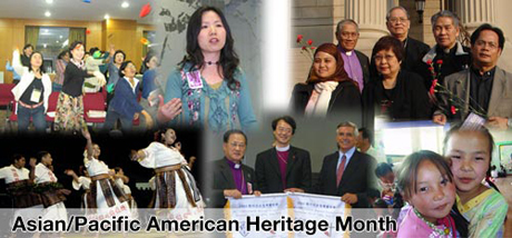 Hymns, Songs, Prayers, Liturgy for Asian Pacific American