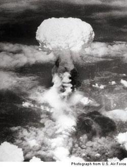 atomic bomb, Nagasaki, 1945