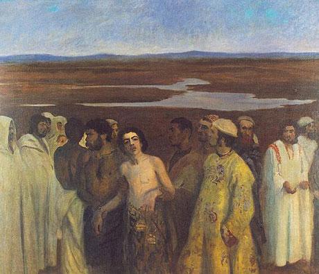 Joseph in slavery